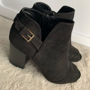 Women's Black Ankle Boots